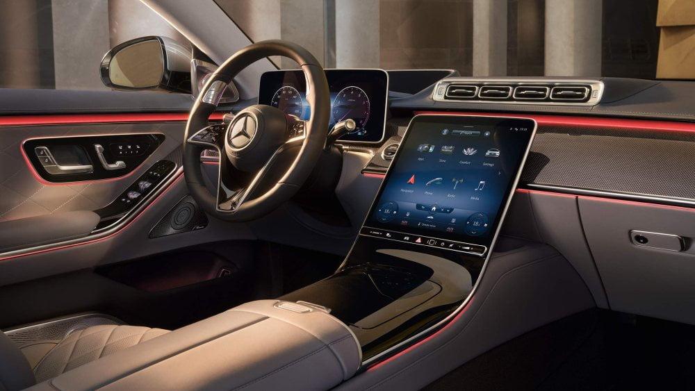 Das Cockpit der neuen Mercedes S-Klasse.