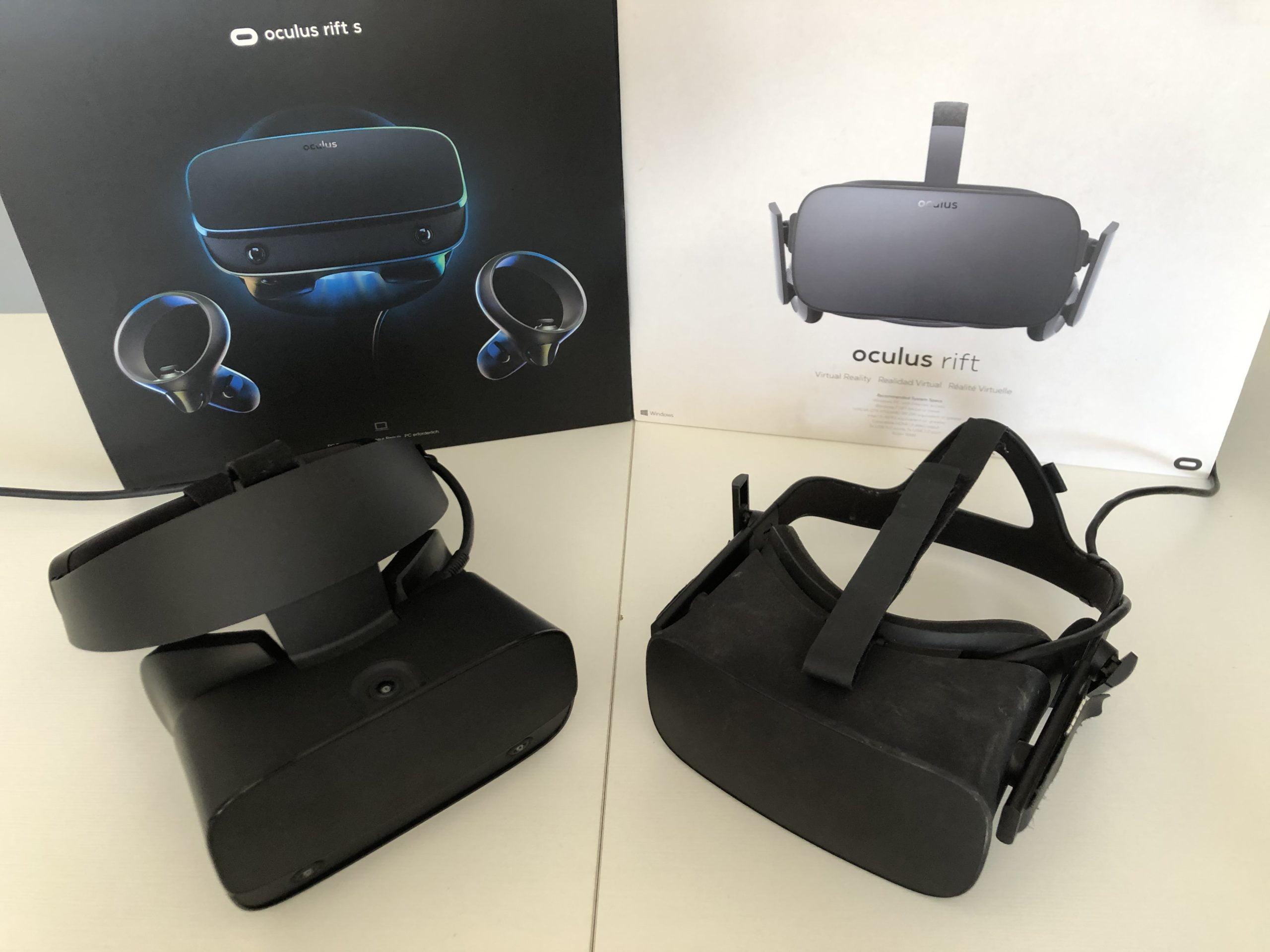 Oculus Rift S Test 1 Original Rift