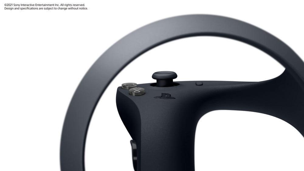   PSVR2 PS5 Controller Nahansicht Buttons