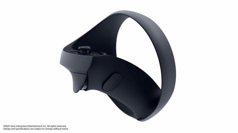   PSVR2 PS5 Controller Seitenansicht