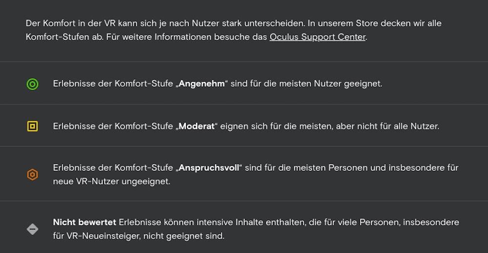 Oculus_Store_Komfortstufen