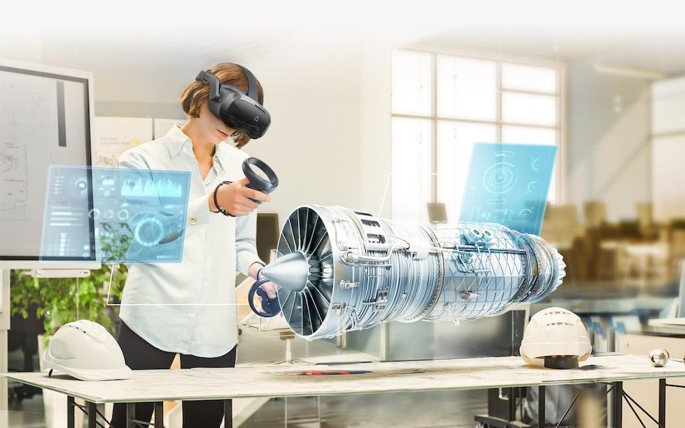 VIVE_Business_3D_Visualisierung_Turbine