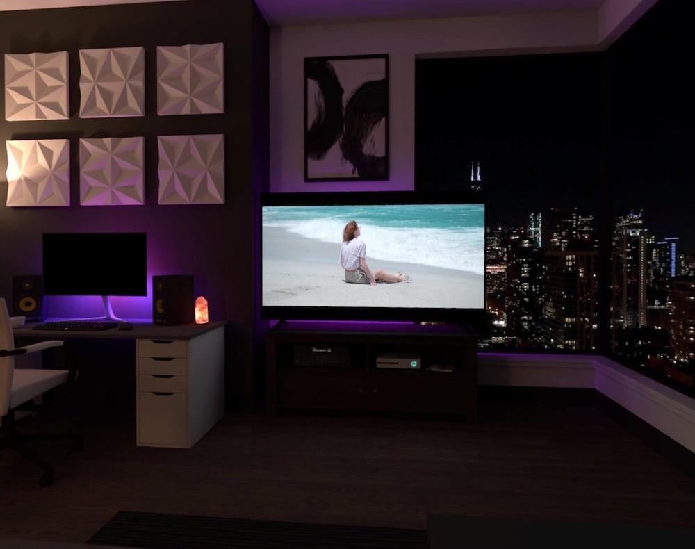   Virtual Desktop Virtuelle Wohnung
