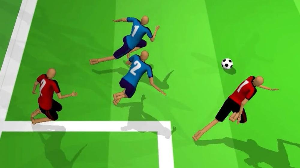 Deepmind: KI-Kicker lernen Fußballspielen