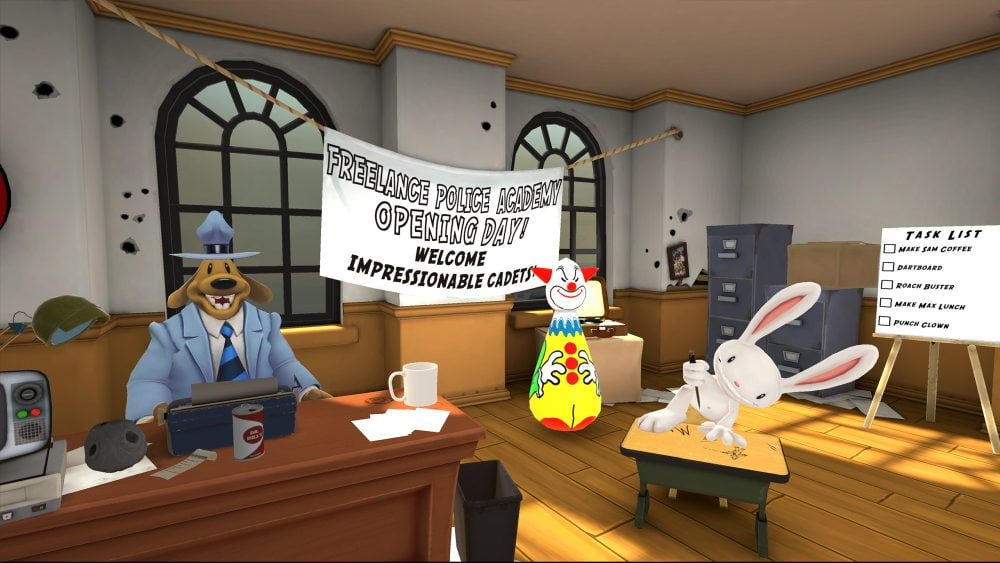 Sam & Max: This Time It's Virtual Test – VR-Kirmes für Quest 2